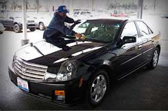 Auto detail service available while you are out of town